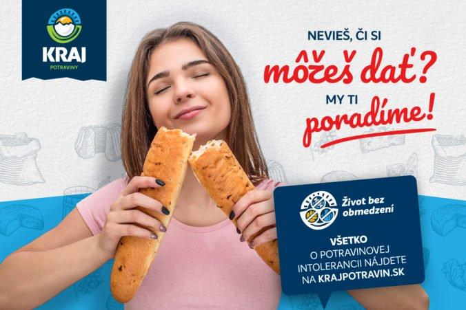 Život bez obmedzení: Sieť slovenských potravín KRAJ pomáha ľuďom s potravinovými intoleranciami