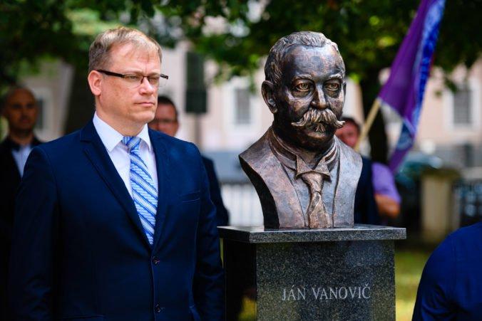 Foto: Matica slovenská oslávila 100. výročie oživotvorenia a odhalila bustu Jána Vanoviča