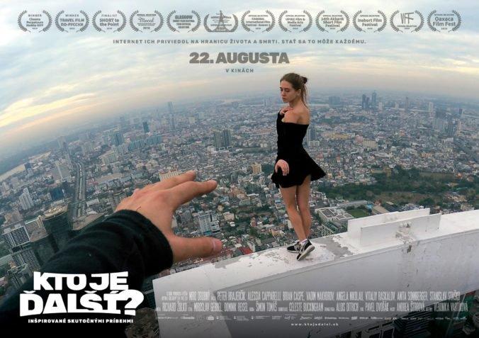 """Historický rekord! Až 86 kín nasadí nový slovenský film """"Kto je ďalší?"""" v premiérový víkend!"""