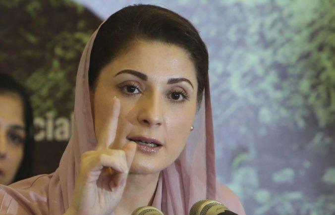 Dcéru pakistanského premiéra Šarífa zatkli pred väznicou, kde bola navštíviť svojho otca