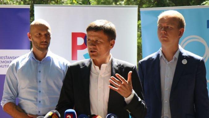 Hlina, Truban a Beblavý rokovali o spoločných prioritách, témou boli aj registrované partnerstvá