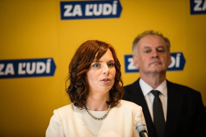 Veronika Remišová sa bude naďalej venovať korupcii, v strane Za ľudí majú nulovú toleranciu