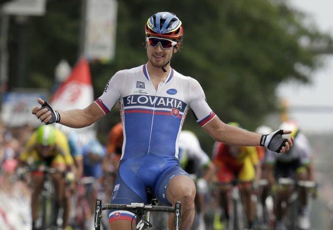 Sagan bude mať na majstrovstvách sveta výrazne menej pomocníkov, Slovensko je nízko v rebríčku UCI