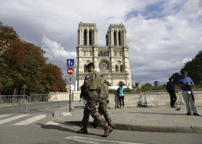 Ulice pri katedrále Notre-Dame dekontaminujú od olova, testy ukázali vysokú úroveň znečistenia