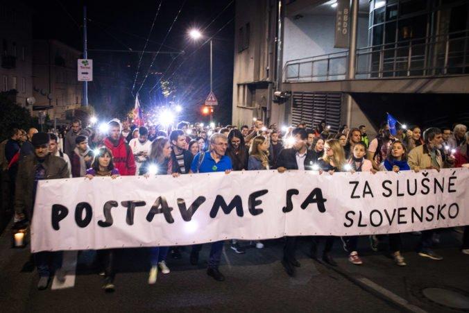 Na komunikáciu Mariana K. reaguje aj iniciatíva Za slušné Slovensko, zorganizuje ďalšie protesty