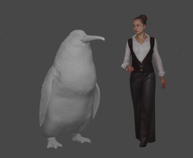 Na Novom Zélande objavili kosti jedného z najväčších tučniakov, zrejme bol veľký ako človek