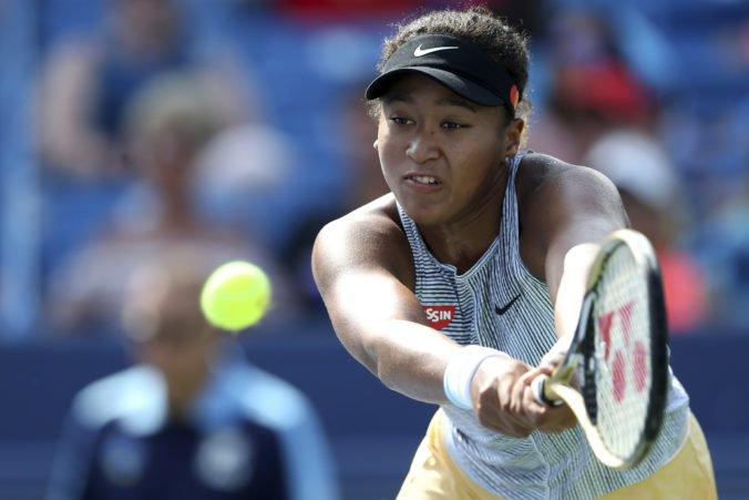 Osakovú trápia problémy s kolenom, svetová jednotka možno nebude obhajovať titul na US Open