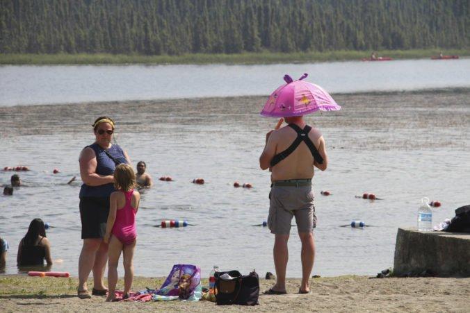 Na Aljaške bolo teplo ako ešte nikdy, priemerná teplota bola v júli o tri stupne vyššia