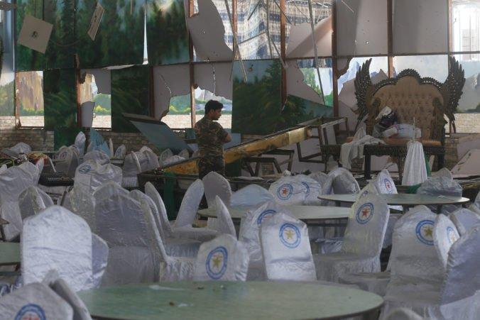 Pri bombovom útoku na svadbe v Kábule zahynuli desiatky ľudí, Taliban sa od činu dištancoval