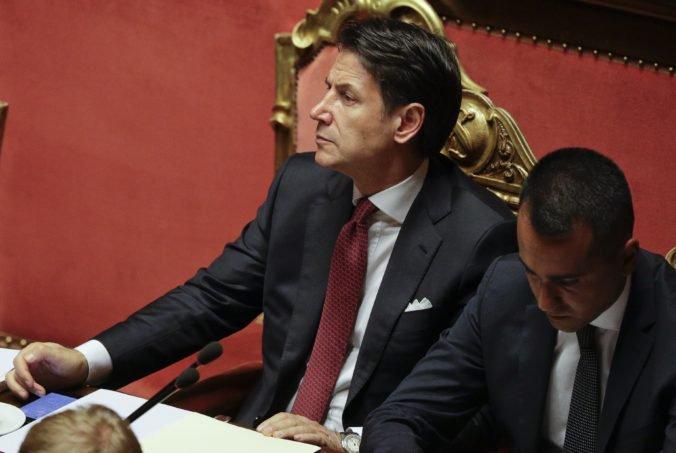 Taliansky premiér Conte odchádza z funkcie, dôvodom je rozhodnutie ministra Salviniho