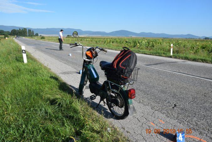 Foto: Poriadne opitý dôchodca išiel na Babete bez prilby aj vodičáku, spadol na rovnej ceste