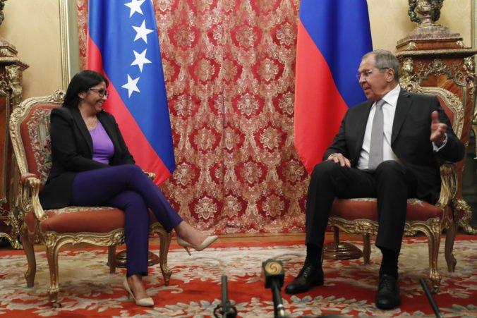 Rusko rokovalo s Venezuelou o bilaterálnych vzťahoch, sú pripravení pokračovať v spoločnej práci