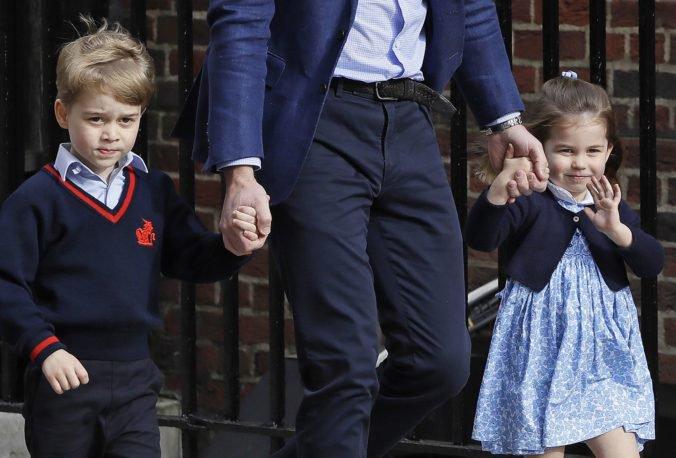 Britská princezná Charlotte začne chodiť do rovnakej školy ako jej brat George