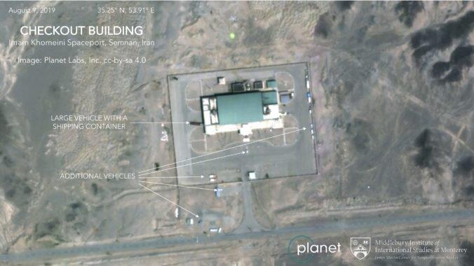 V iránskom vesmírnom centre zrejme explodovala raketa, do vesmíru mala vyniesť satelit