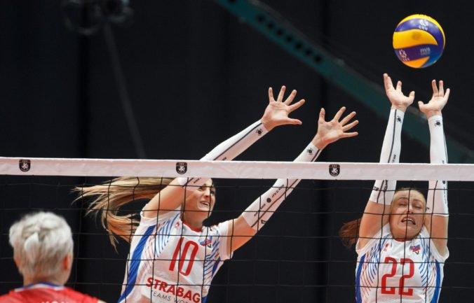 Slovenské volejbalistky v osemfinále európskeho šampionátu vyzvú vicemajsterky sveta