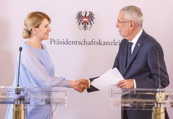 Zuzana Čaputová sa v Rakúsku pripojila k iniciatíve prezidenta, hovorí o odpovedi na rast extrémizmu