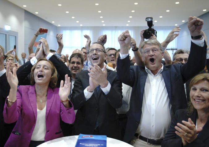 Krajná pravica zaznamenala vo voľbách v Sasku a Brandenbursku úspechy, vládnuce strany stratili