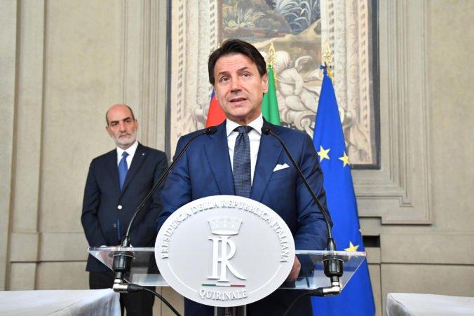 Designovaný premiér Conte plánuje predstaviť novú taliansku vládu, finišujú práce na dohode
