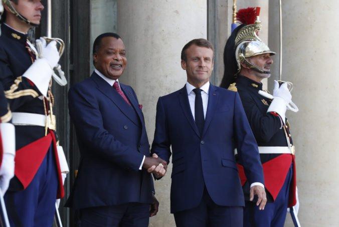 Macron sľúbil pomoc africkým krajinám, Kongo získa milióny eur na ochranu dažďového pralesa