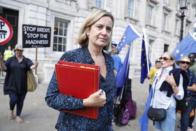Ministerka Ruddová odišla z Johnsonovej vlády, vylúčenie poslancov označila za útok na demokraciu