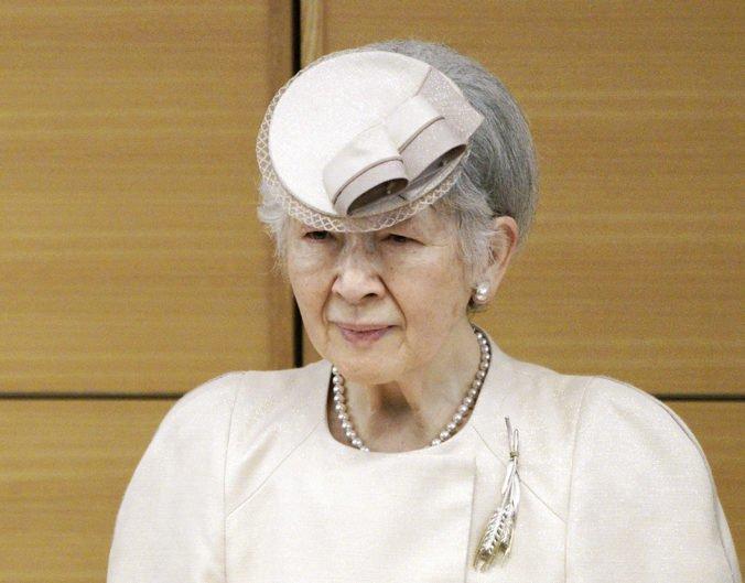 Bývalú japonskú cisárovnú Mičiko prepustili z nemocnice, pre rakovinu prsníka podstúpila operáciu