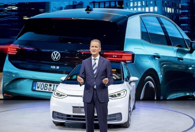 Foto: Volkswagen predstavil model ID.3 a tvrdí, že jeho výroba elektromobilov bude zisková