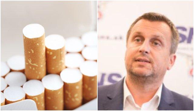 Aktualizované: Dankova SNS žiadne zdražovanie cigariet nepodporí a chce zvolať koaličnú radu