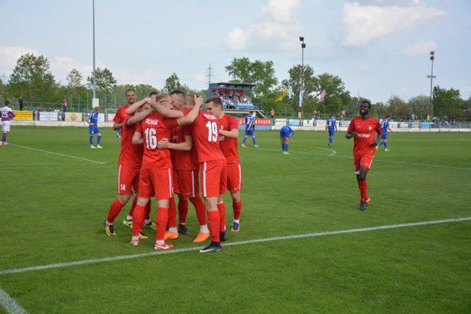 Fortunaligisti v Slovnaft Cupe nezaváhali, Sereď zničila súpera desiatimi gólmi