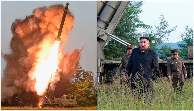 Foto: Severná Kórea otestovala viachlavňový raketomet, osobne to sledoval aj vodca Kim Čong-un
