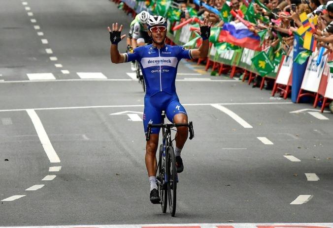 Video: Gilbert ovládol rýchlu a dlhú 17. etapu Vuelty, Quintana je späť v boji o celkový triumf