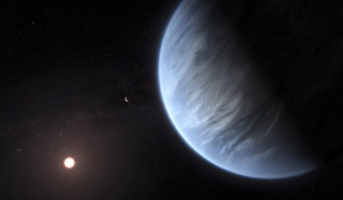 Astronómom sa podaril prelom v hľadaní života mimo Zeme, našli vodu na planéte v obývateľnej zóne