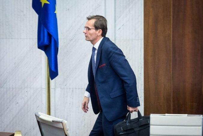 Galko nebude novým podpredsedom parlamentu, poslanci ho v tajnej voľbe nezvolili