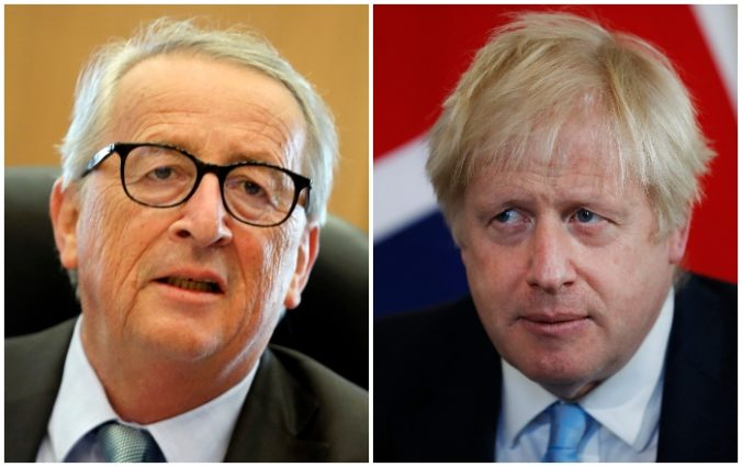 Johnson a Juncker budú rokovať o brexite, rozhovory zatiaľ ukázali len malé známky pokroku