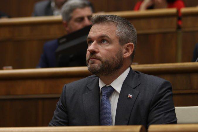 Matovič nenesie zodpovednosť za nič, vyhlásil premiér Pellegrini a dôvod svojho odvolania označil za slabý
