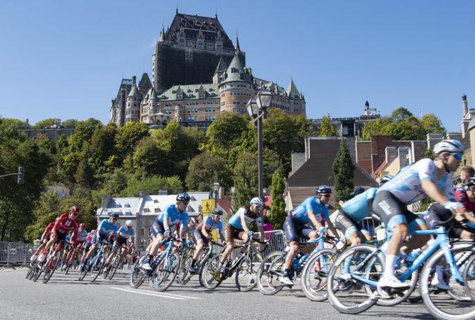 Skvelý Sagan skončil druhý v Québecu, prvenstvo spred roka obhájil Matthews
