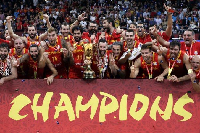 Video: Španieli s historicky druhým titulom, bronz z MS v basketbale si odnášajú Francúzi