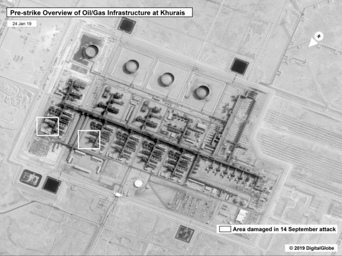 USA zverejnili satelitné snímky z útokov na ropné polia, Irán obviňujú aj spravodajské služby