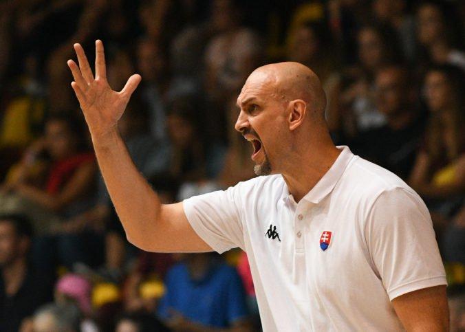 Chorvát Žan Tabak pokračuje vo funkcii hlavného trénera slovenských basketbalistov
