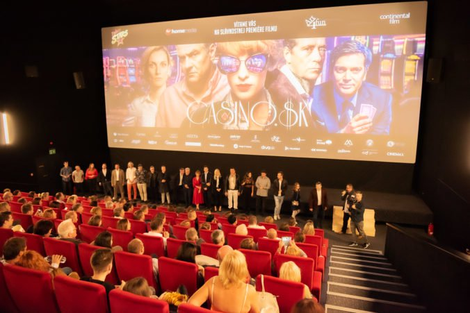 Film Casino.sk má za sebou slávnostnú premiéru, do kín dorazí o týždeň