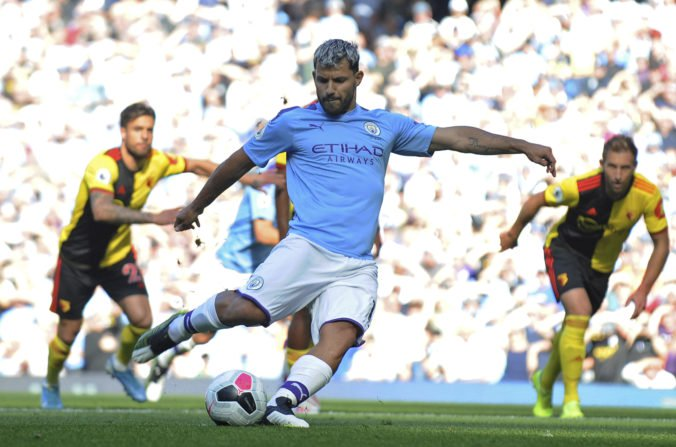 Video: Manchester City v súboji 6. kola Premier League deklasoval Watford, v 18. minúte viedol už 5:0