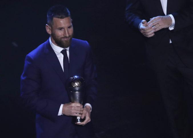 Najlepším hráčom roka 2019 sa stal Lionel Messi, ocenenie FIFA The Best získal už šiestykrát v kariére