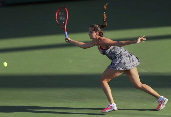 Viktória Kužmová v prvom kole turnaja WTA v Taškente nestratila set