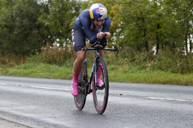 Dygertová ovládla časovku na majstrovstvách sveta, medzi mladými cyklistami zvíťazil Bjerg
