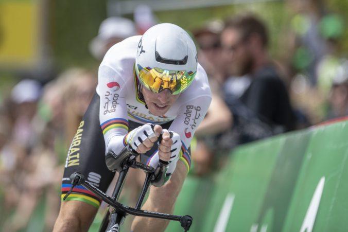 Austrálčan Rohan Dennis suverénne obhájil titul svetového šampióna v individuálnej časovke