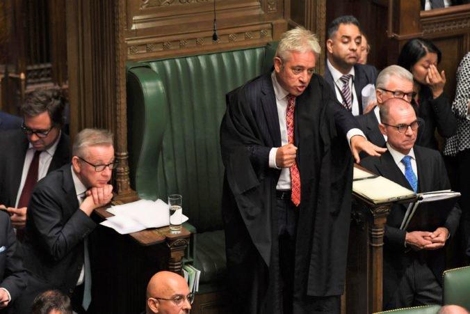 Britská politická kultúra je toxická a atmosféra v snemovni horšia, Bercow vyzval k umiernenosti