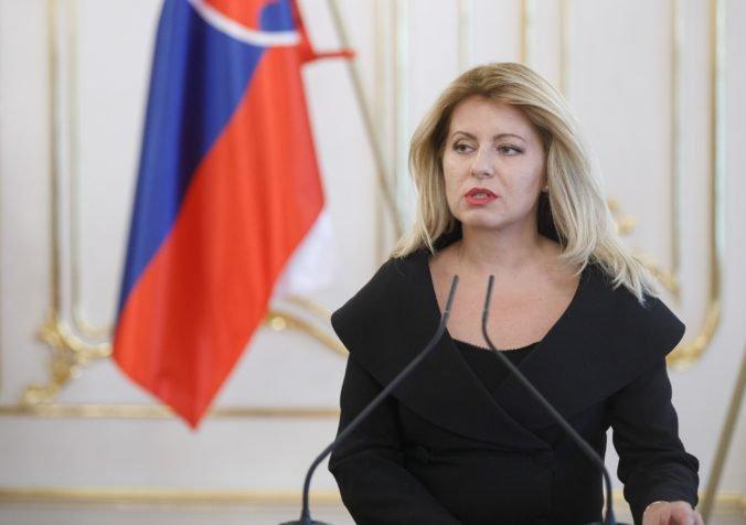 Prezidentka Čaputová sa výberom ústavných sudcov začne zaoberať po návrate z New Yorku