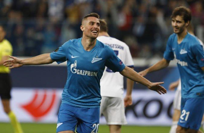 Róbert Mak rozhodol o postupe Zenitu do osemfinále Ruského pohára