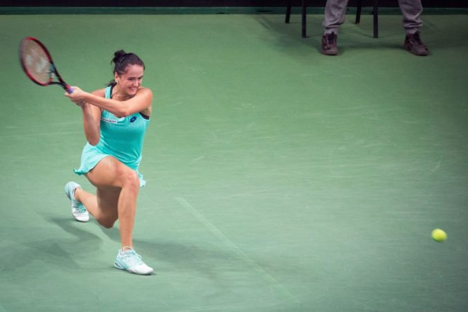 Viktória Kužmová neuspela v slovensko-českom derby a semifinále v Taškente si nezahrá