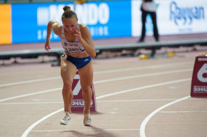 Gajanová si na MS v Dauhe nezabezpečila postup do semifinále, v rozbehu obsadila až siedme miesto