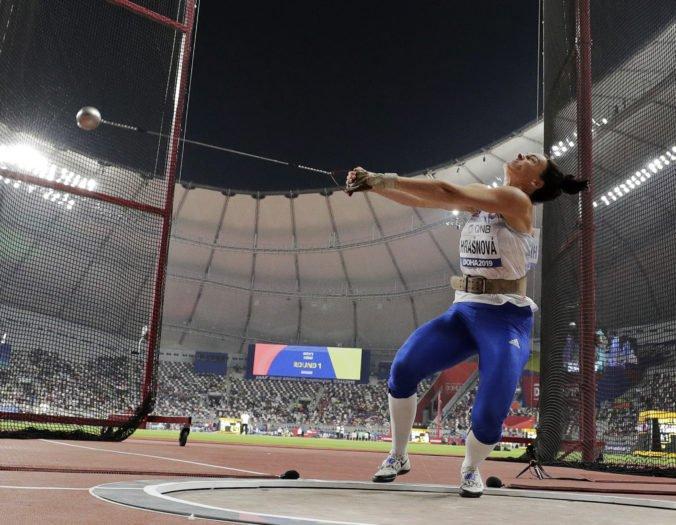Kladivárka Martina Hrašnová splnila na MS v Dauhe svoj cieľ, z deviateho miesta ide do finále